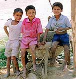 Children Waiting for Vaccinations