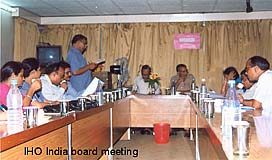 IHO India board meeting