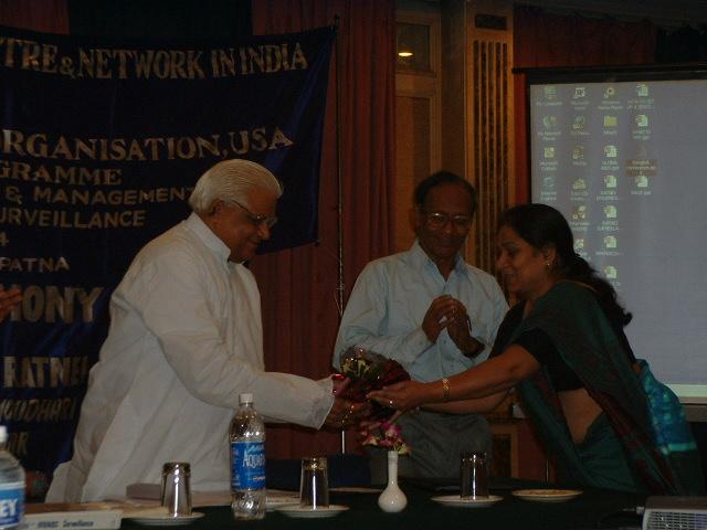 Bihar Health Minister graces the RATNEI Closing Ceremony